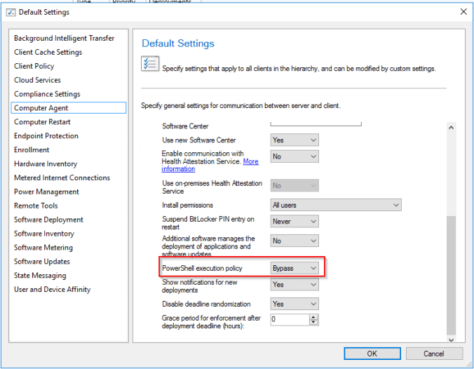 Create LAPS managed user with SCCM Configuration Item