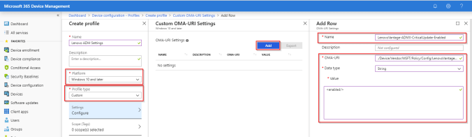 Intune-Set-Admx-Setting