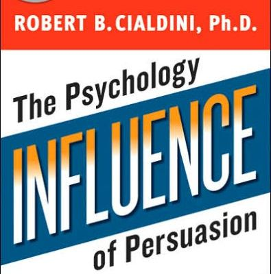 Cover page of Influence The Psychology Of Persuasion, By Robert Cialdini