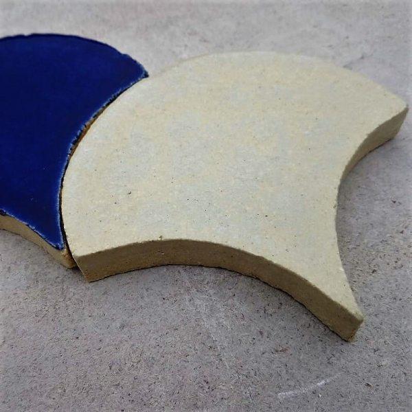 Керамическая плитка Рыбья чешуя (глазурь) 1