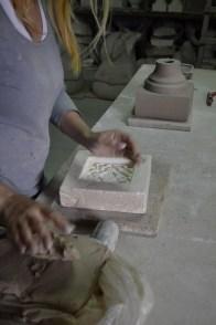 Плитка для камина 1