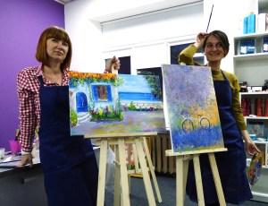 Художественные мастер-классы в Киеве Andrew Pugach