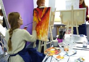 масляная живопись мастер-класс
