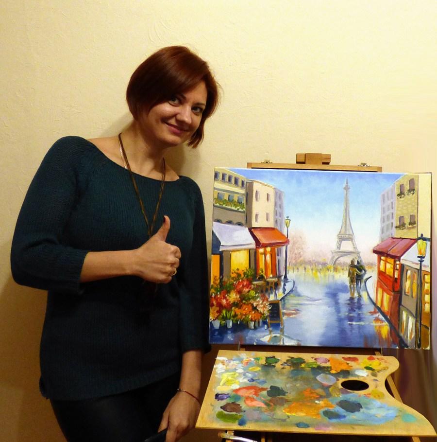 мастер-классы по рисованию масло для новичков киев