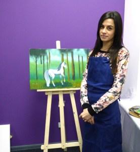 уроки живописи маслом от Andrew Pugach