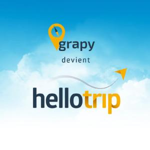 Grapy.fr, launched in 2014 by EADA alumnus Benoit Mouret and friend Maxime Cohendet, was recently bought by Hellotrip, an Amsterdam/Paris based tech start-up with Europe's first airfare prediction technology.