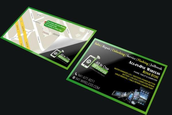 Шаблоны и фото визиток Ремонт телефонов | Скачать бесплатно