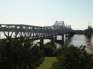 Bridge over Mississippi River at Vicksburg Miss.