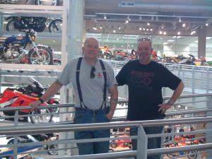 Mik & Steve at Museum