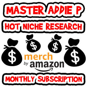 Master Addie P Niche List Monthly Subscription