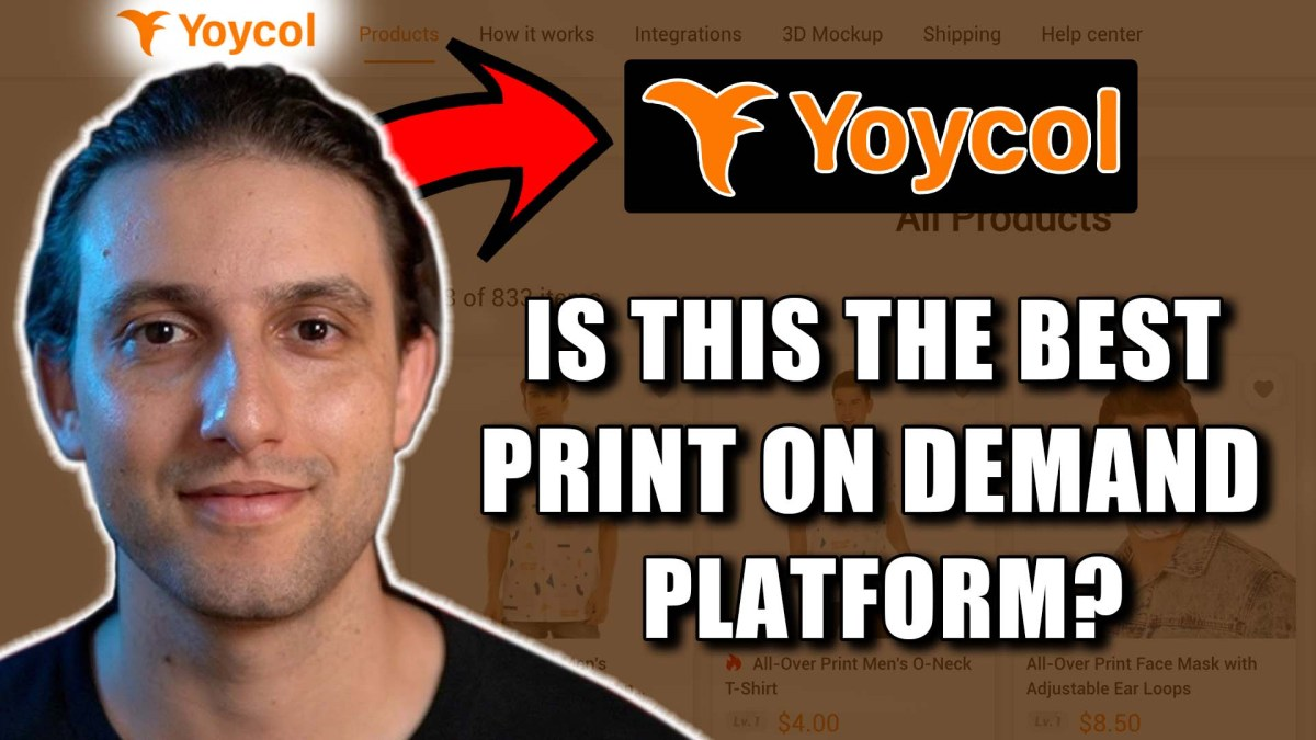 Yoycol Review & Tutorial - Is This The Best Print On Demand Platform?