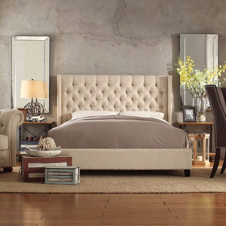 Exciting 2017 Bedroom Trends Upholstered Beds Master