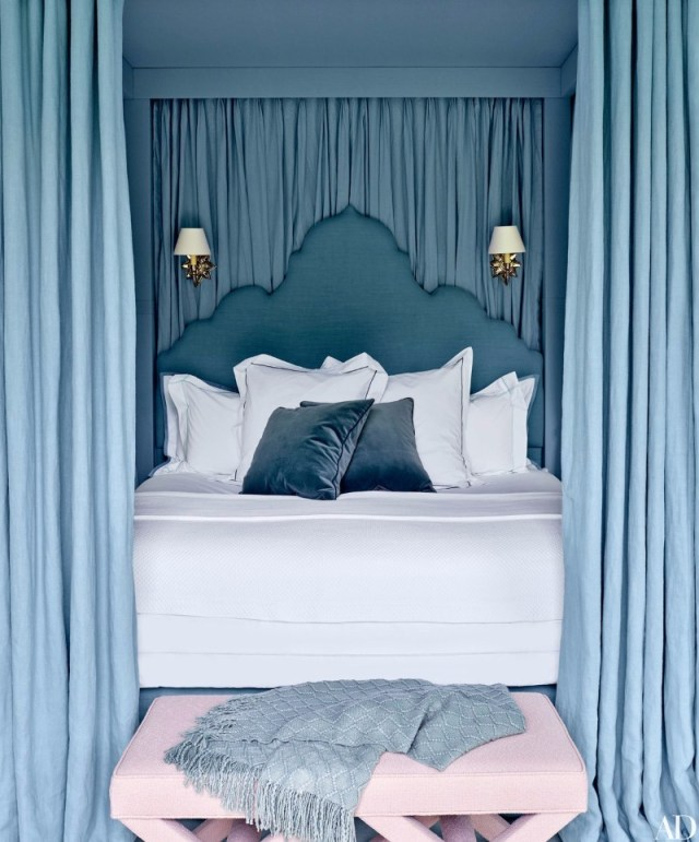 Master Bedroom Trends 2018: Palace Blue Bedrooms - Master ...