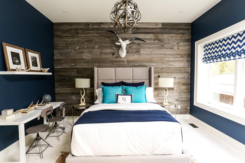 blue bedroom inspiration for 2018 master bedroom ideas Dark Blue Bedroom Ideas id=56046