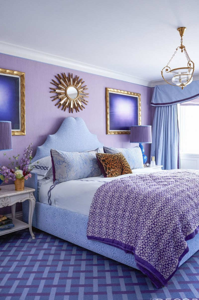 Summer Trends: Purple Bedrooms For a Stylish Room Design ... on Trendy Bedroom  id=87525