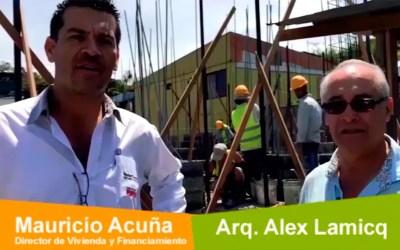 El arquitecto Alex Lamicq y sus impresiones con el sistema constructivo MasterBlock