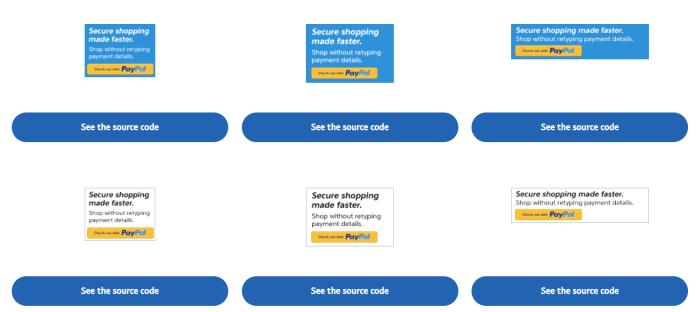 paypal verified logos