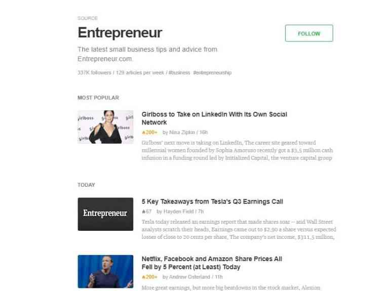 feedly content ideas