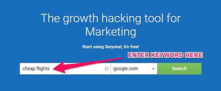 serpstat keyword research