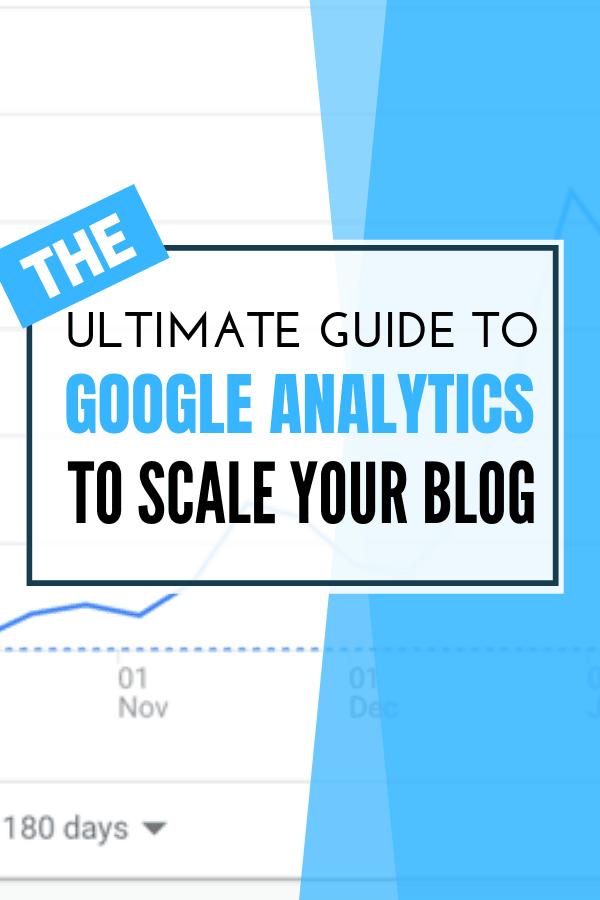 Google Analytics Guide Bloggers pin