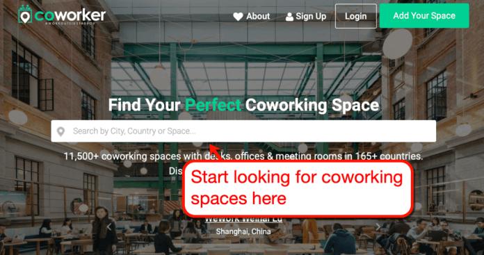 Coworker Homepage