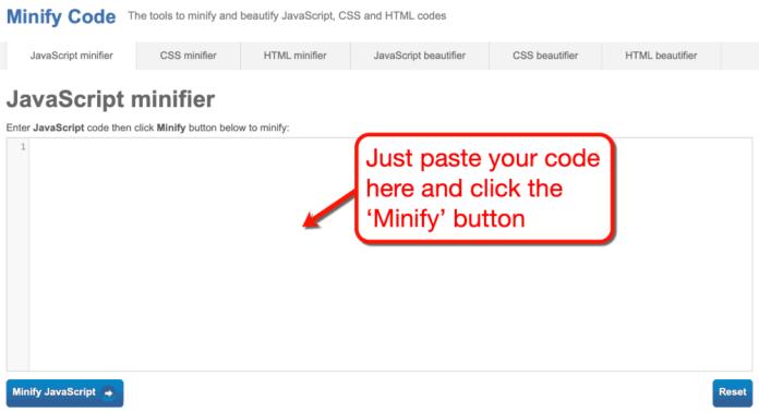 Minify Code
