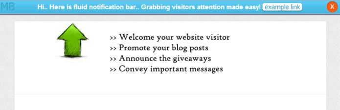 fluid notification bar screenshot