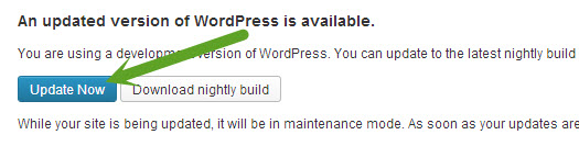 upgrade to WordPress 3.6 release candidate