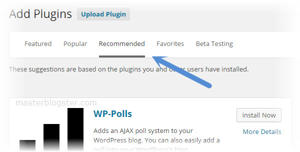 plugin recommendation