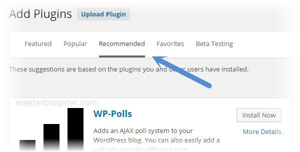 plugin recommendation