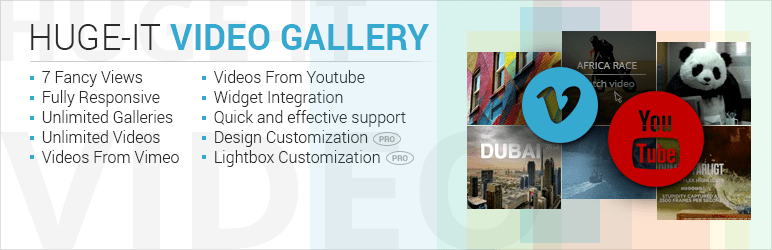 Video Gallery Plugin By Huge-IT