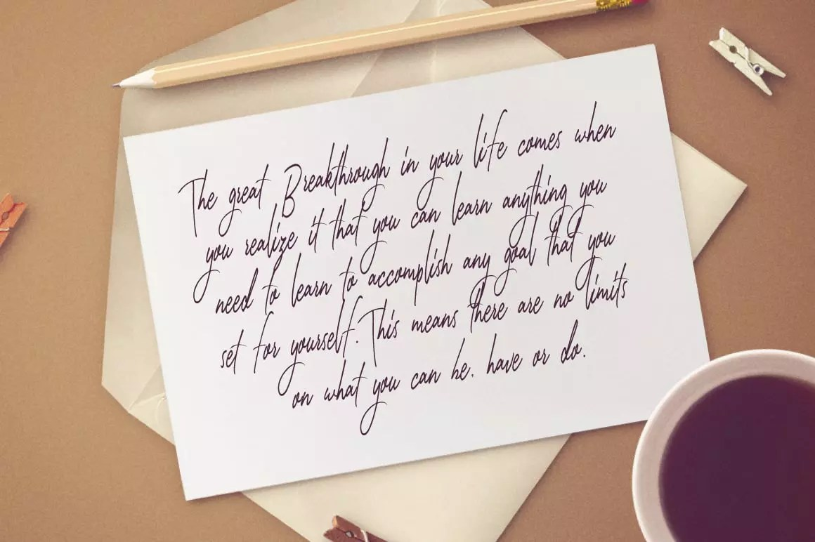 Amazing Handwritten Fonts Bundle