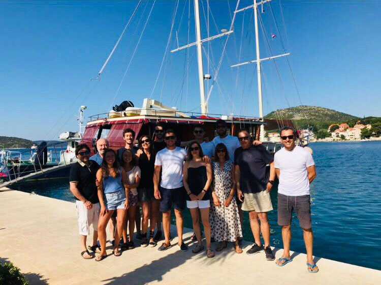 At the end of this week this was a fantastic trip, nice boat, good itinerary, competent captain, high standard chef, nice crew. Thanks Dare, Neno, Joseph and Toni for contributing to one of the best weeks that we were sailing in a boat. Slano, 17.08.2019 Luis Campos (Portugal)