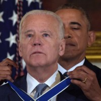 President Barack Obama Gives Vice-President Joe Biden A Surpising Farewell Gift.