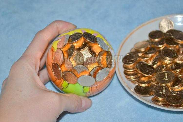 денежный топиарий из монет своими руками