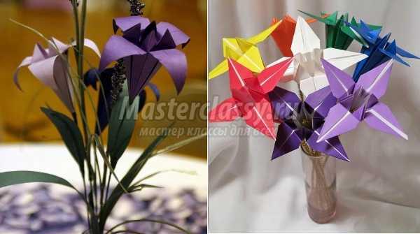 Оригами: цветы из бумаги. Делаем вместе