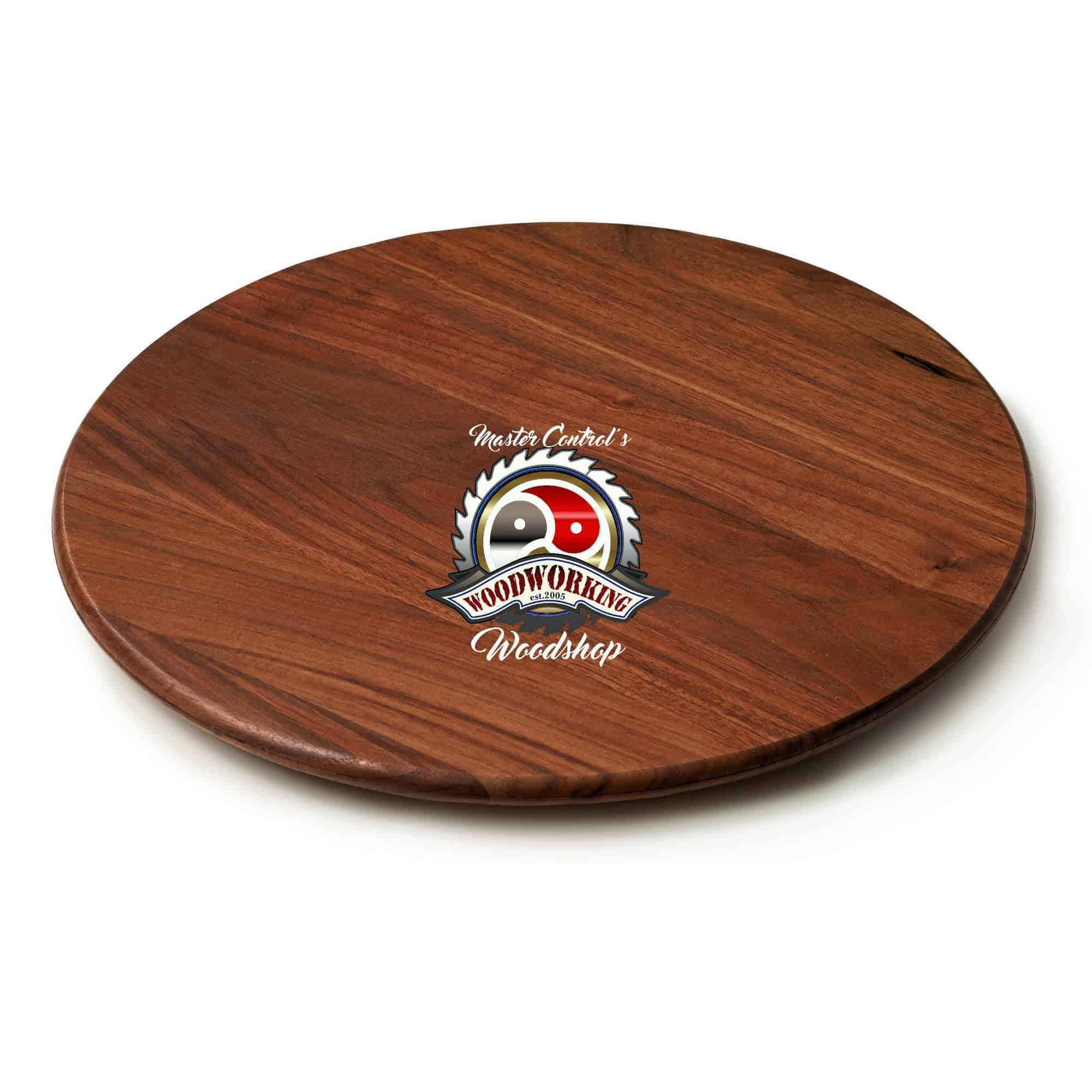 Hardwood Lazy Susan turntable - Single Hardwood Type | Sizes - 12, 15, 18, 20, 24, 28, 30, 36