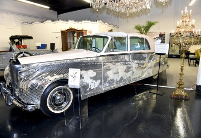 Liberace 1961 Rolls Royce Sedanca Deville Limousine by James Young and John Hancock