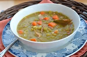 recipe for split pea soup with ham bone