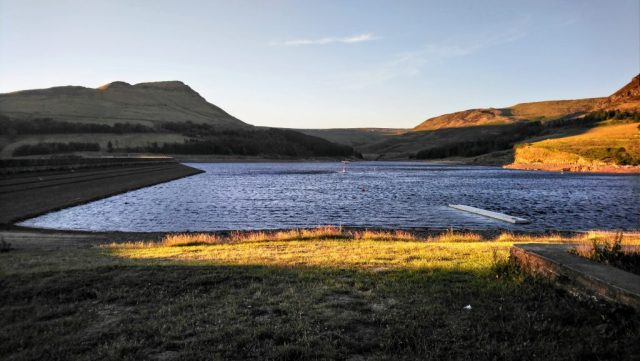 Dovestone Reservoir - Hot weather and Hoses