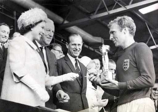 The Queen presents the 1966 World Cup to England Captain, Bobby Moore | Masterflex Hose