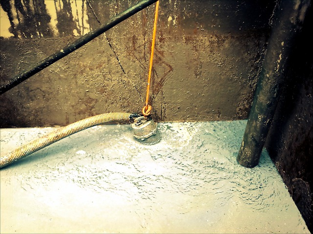 Pouring Cement During Construction - Using Bulk Material Handling Hose