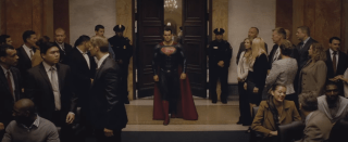 The son of Krypton is here