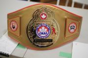 Teen Male Black Belt Grand Champion Sparring belt