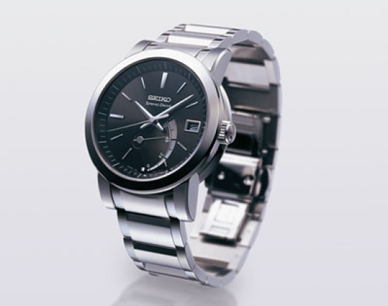 SEIKO Spring Drive Automatic with Power Reserve Indicator and Date