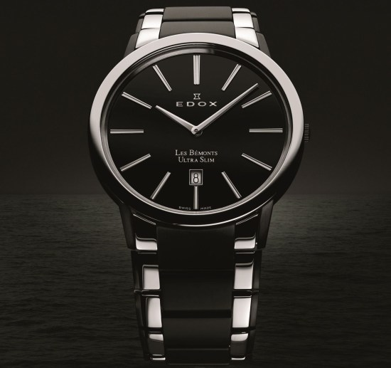 Edox Les Bémonts Ultra Slim watch