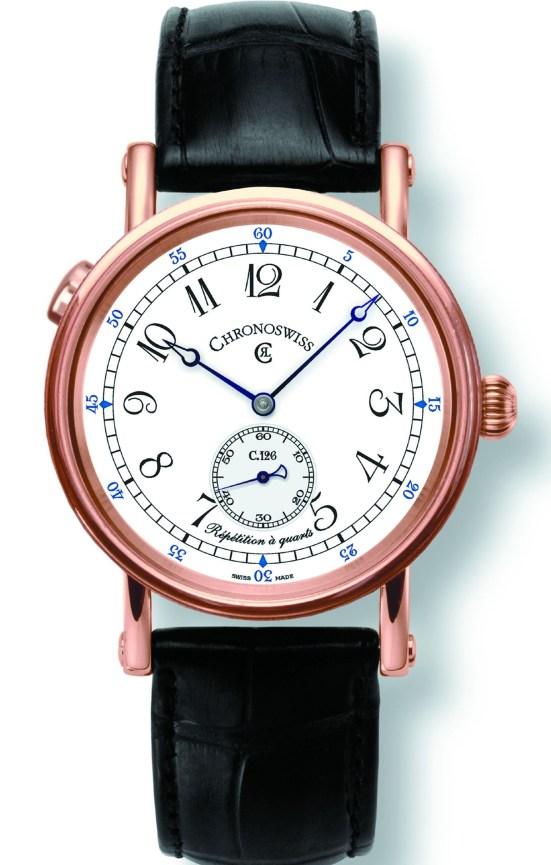 Chronoswiss Répétition à quarts - The World's First Wristwatch with Quarter-Hour Repetition