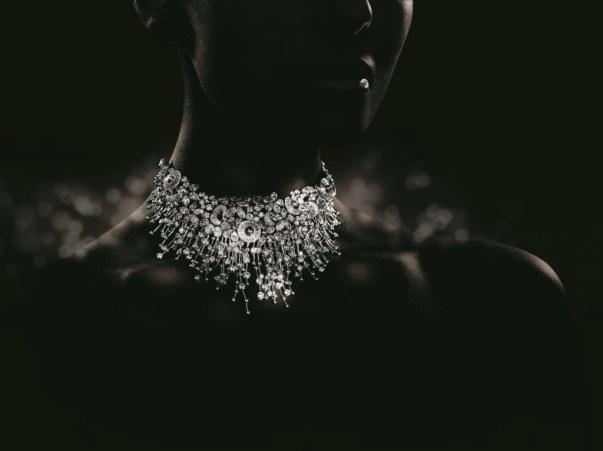 Audemars Piguet Carnet de Bal Haute Joaillerie Set  - Diamond Studded Wristwatch and Choker