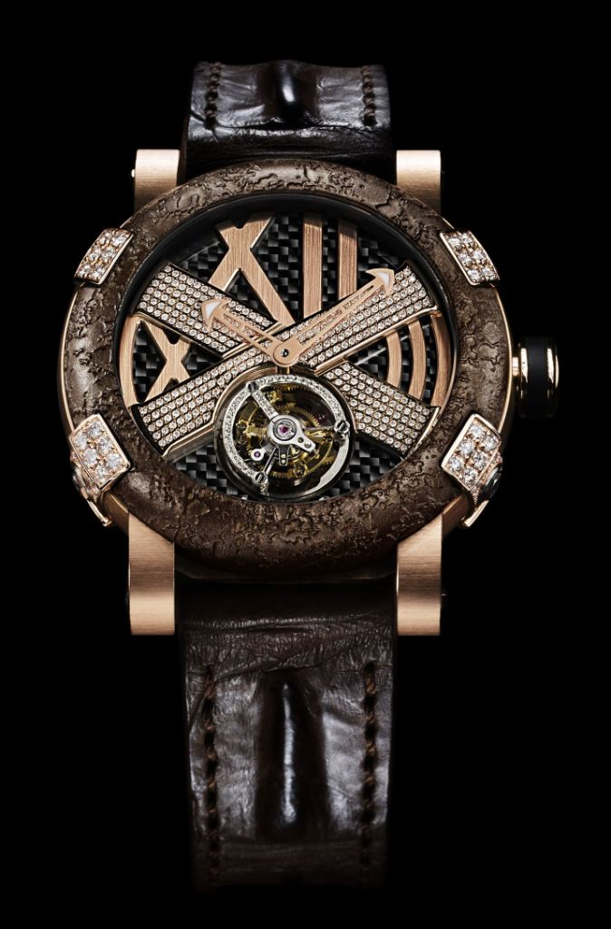 Romain Jerome Extreme Rusted steel T-oxy III Tourbillon Pink Star Limited Edition