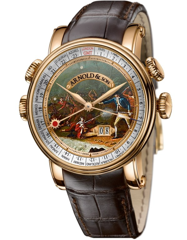 Arnold and Son HORNET History Collection 'JAMES COOK' watch